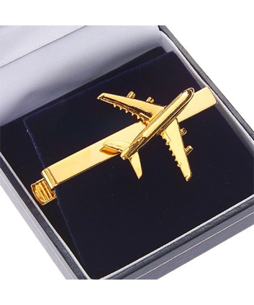 Tiebar Airbus A380 - gold plated