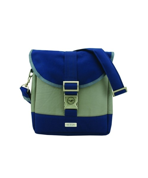 BAG TO LIFE Daybag Business Class - grau/blau