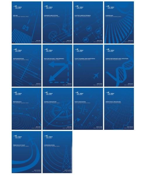 CAE Oxford EASA ATPL Training Manuals - Komplettpaket (Buch 1-14)
