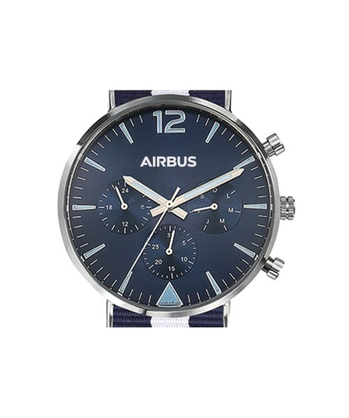 Airbus Montmartre Armbanduhr - blau