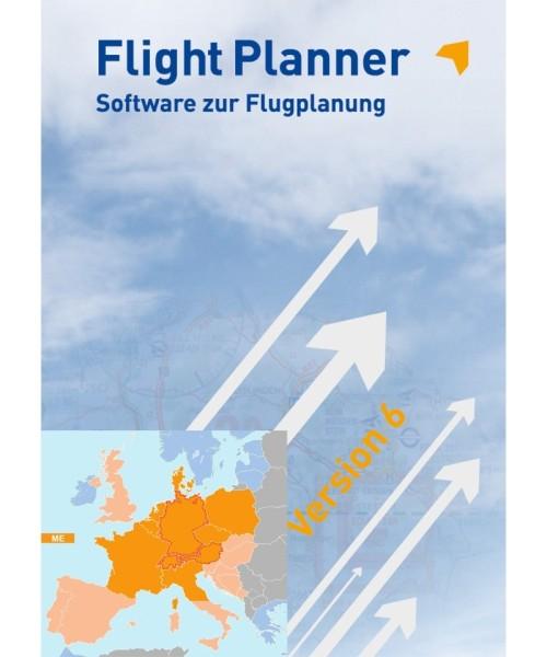 Flight Planner Vollversion inkl. Kartenpaket Deutschland und Nachbarländer (FP-ICAO-ME)
