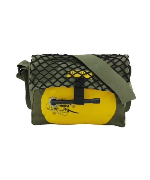 BAG TO LIFE Co-Pilot Camo Bag - olive-green/yellow