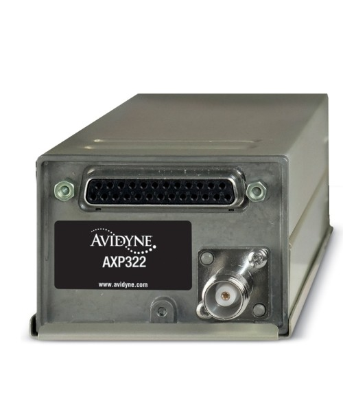 Avidyne AXP322 Remote-Mount Mode-S Transponder (incl. Install-Kit) - ADS-B Out