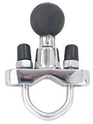 RAM Mounts Chrom-Klemmschelle - für 19,1-25,4 mm Durchmesser, B-Kugel (1 Zoll), im Polybeutel