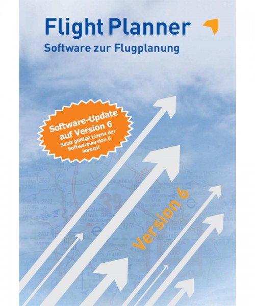 Flight Planner Software-Update to Version 6 - for FP 5 users