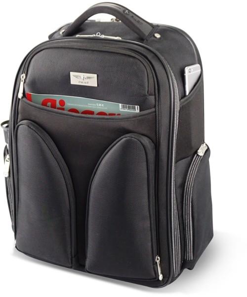 PILOT Backpack - Rucksack für Piloten, schwarz