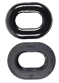 David Clark Comfort Gel Undercut Ear Seals - for all DC H10- Headset Series, 1 Pair (40863G-02)
