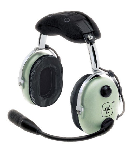 David Clark H10-13.4 General Aviation Headset, PJ-Stecker, gerades Kabel - inkl. DC Headset-Tasche