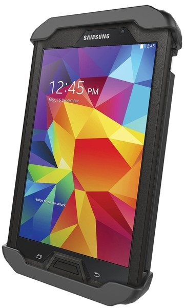 RAM Mounts Universal Tab-Lock Halteschale (abschließbar) für 7 Zoll Tablets (in Schutzgehäusen) - AM