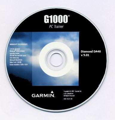 Garmin G1000 PC Trainer for Diamond DA40 (v 9.01)