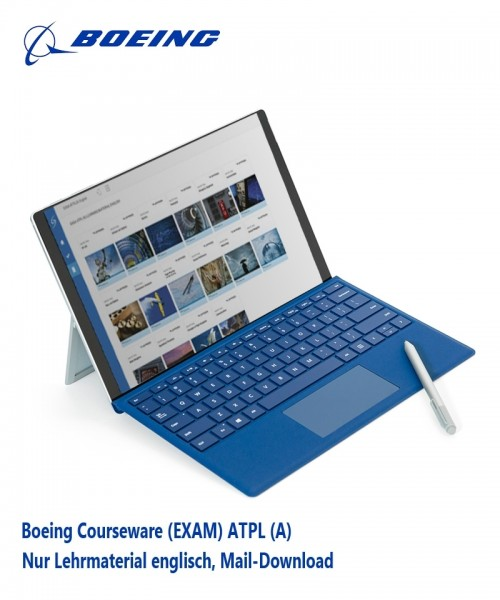 Boeing Courseware (EXAM) ATPL (A) - nur Lehrmaterial, Mail-Download