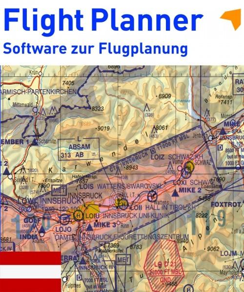 Flight Planner / Sky-Map - ICAO Karte Österreich (Austro Control)