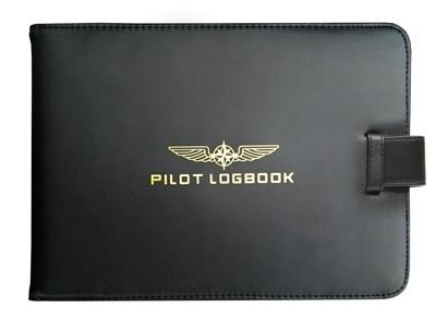 Logbook Cover (JAR/FCL) PILOT - black