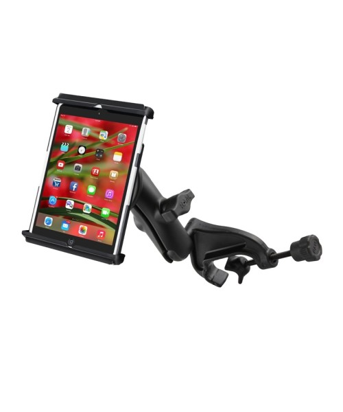 """RAM Mounts Yoke Mount with Universal Tab-Tite Cradle for 7"""" Tablets (incl. thin sleeves)"""
