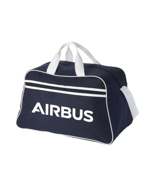 Airbus Sporttasche - blau/weiß