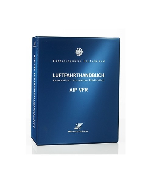 German AIP VFR Plastic Binder (wide)