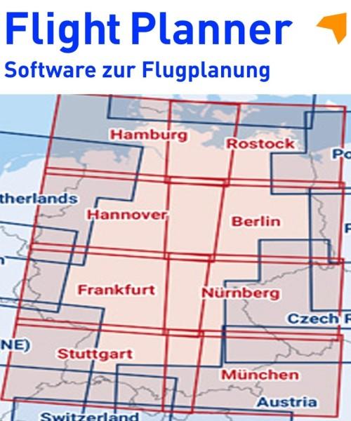 Flight Planner / Sky-Map - ICAO Karten Deutschland