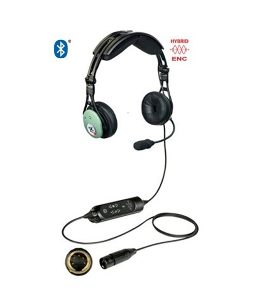 David Clark PRO-X2 Hybrid ENC Headset - active, XLR-5 Plug (5-Pin), Bluetooth (Modell 43105G-04)