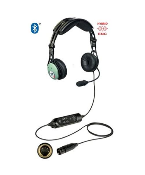 David Clark PRO-X2 Hybrid ENC Headset - aktiv, XLR-5-Stecker (5-Pin), Bluetooth (Modell 43105G-04)