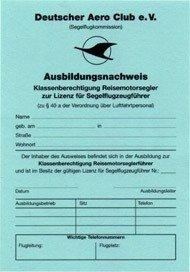 Training Certificate TMG - German