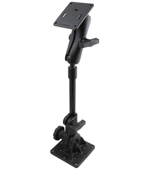 """RAM MOUNT Ratchet Base with 9"""" Pipe and VESA connection - RAM-101U-VE12-9"""