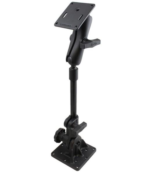 RAM Mounts Ratchet Standhalterung mit VESA-Anbindung (oben) - Stab ca. 300 mm, C-Kugel Aufnahme (1,5