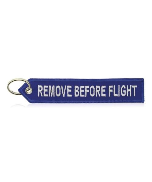 Airbus Schlüsselanhänger Remove Before Flight - blau/weiß