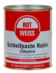ROTWEISS - Schleifpaste Rubin, 750 ml Dose