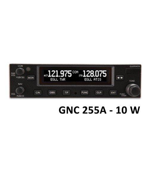Garmin GNC 255A, Comm/Nav, 8,33 & 25 kHz, 10W - mit Einbaurahmen, Helicopters only