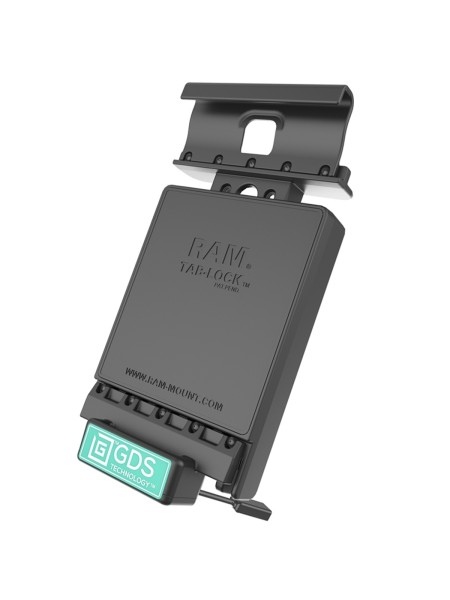 RAM Mounts Universal Tab-Tite Halteschale (abschließbar) mit GDS-Ladesockel - für Samsung Galaxy Tab