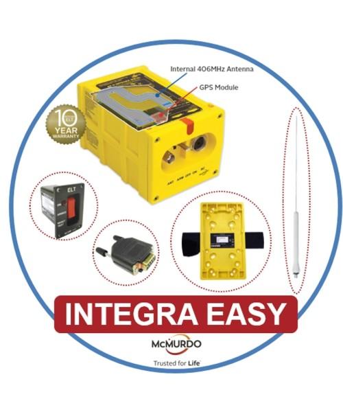 McMurdo ELT-Komplettpaket Integra Easy - inkl. Whip-Aussenantenne