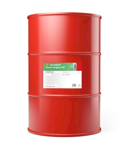 AeroShell Oil W100 PLUS - 55 AG Fass (208,2 Liter)