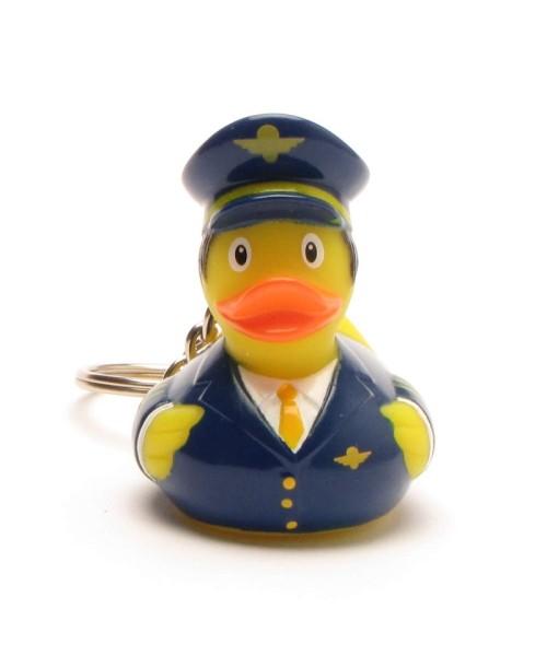 Schlüsselanhänger Rubber Duck Pilot
