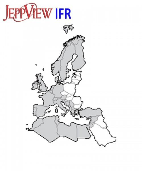 JeppView IFR Version JVERM (Europe and Mediterranean) - Jahres-Abo