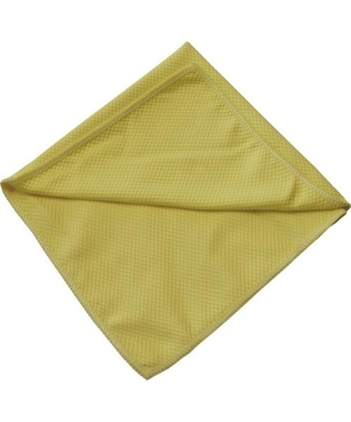 ROTWEISS - Mikrofasertuch Glas - gelb, 40x40 cm