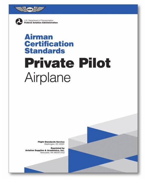 ASA, Airman Certification Standards - Private Pilot Airplane
