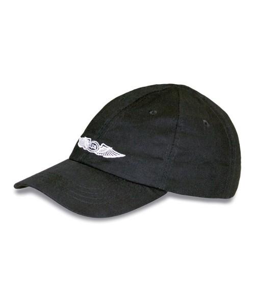 ASA Pilot Basecap, schwarz