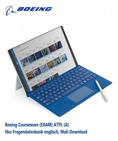Boeing Courseware (EXAM) ATPL (A) - nur Fragendatenbank englisch, Mail-Download