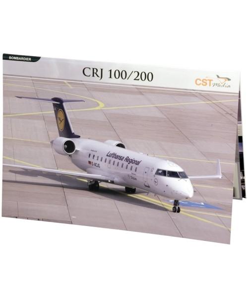 Faltmappe Bombardier CRJ200