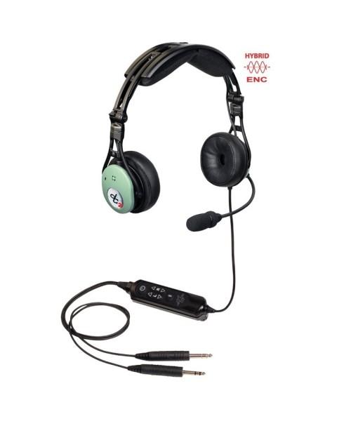 David Clark PRO-X2 Hybrid ENC Headset - aktiv, PJ-Stecker (GA), Modell 43105G-10