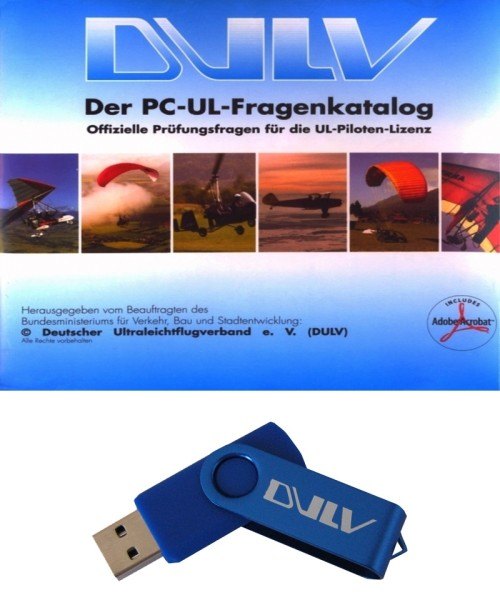 German Ultralight Questionnaire (incl. Gyrocopter) - USB-Stick