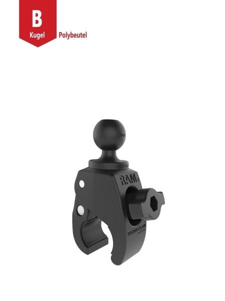 RAM Mounts Tough-Claw Halteklammer (klein) mit Feststellschraube - Verbundstoff, B-Kugel (1 Zoll),