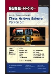 Checklist Cirrus Avidyne Entegra Version 6.X, spiral binding, english