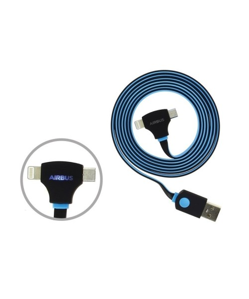 Airbus 2-in-1 Charging Cable - Lightning (8-Pin) / Micro-USB