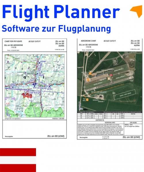 Flight Planner / Sky-Map - AIP VFR Landing Pattern Austria (VFR Trip-Kit Austria)