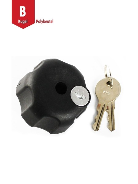 RAM MOUNT Locking Knob for B-Ball Size Socket Arms - RAM-KNOB3LU