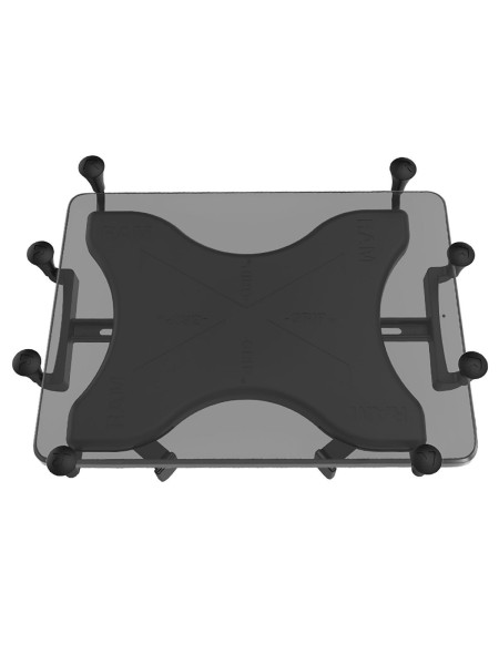 RAM Mounts X-Grip Universal Halteklammer für 12 Zoll Tablets - Aufnahme runde Basisplatte (B- oder C