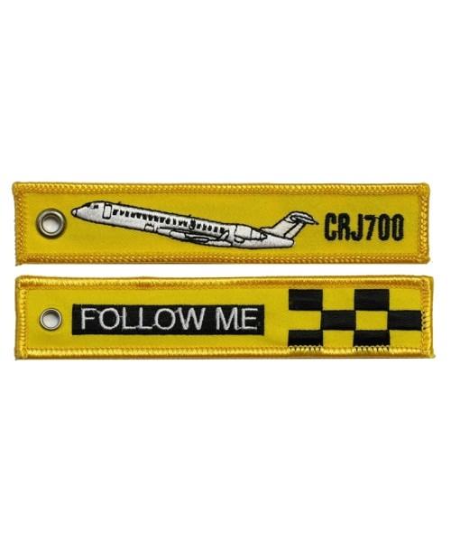 Key Ring FOLLOW ME / CRJ700