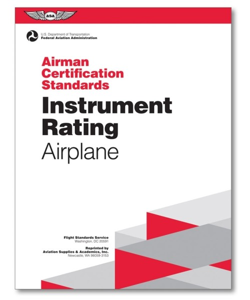 ASA, Airman Certification Standards - Instrument Rating Airplane