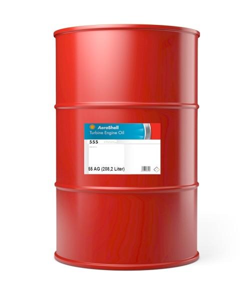 AeroShell Turbine Oil 555 - 55 AG Fass (208,2 Liter)